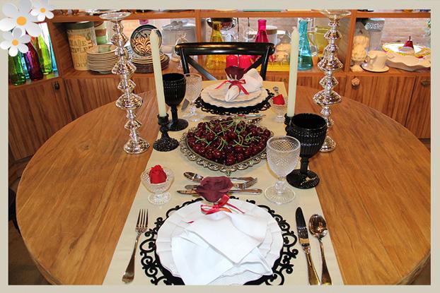 Sugestão para o Dia dos Namorados: Mesa de Jantar Romântica