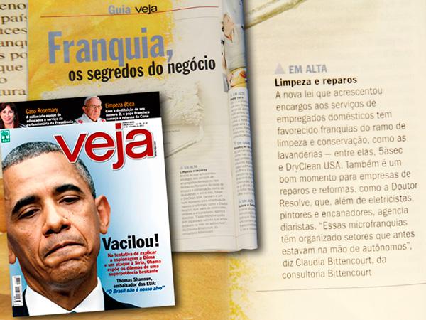Dona Resolve é citada como boa opção de franquia – Revista Veja