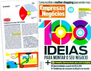 Dona Resolve ganha destaque na Revista PE&GN