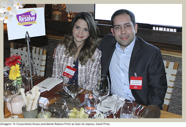 Dona Resolve participa do Business Dinner