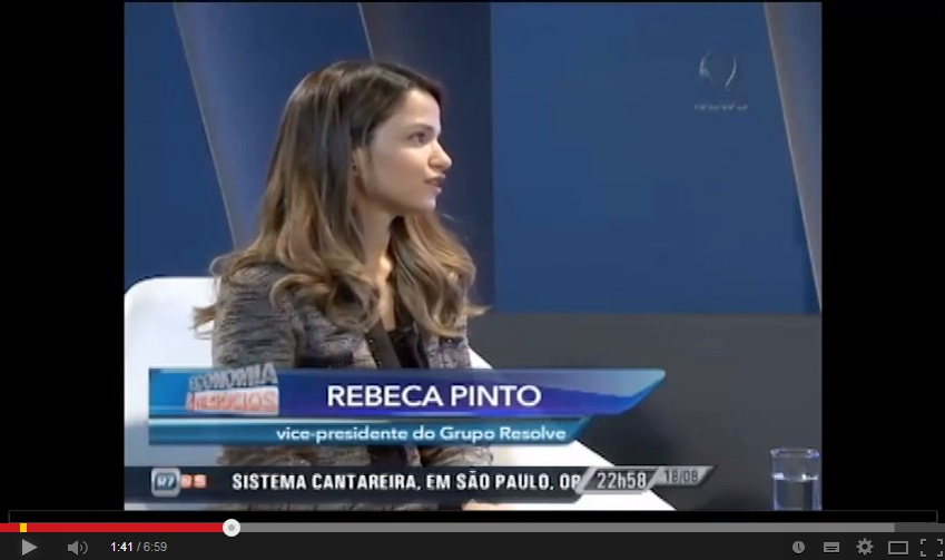 Dona Resolve é destaque no programa Economia e Negócios, no canal Record News