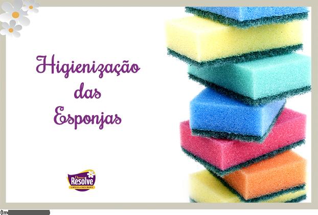 Dicas de como higienizar esponjas