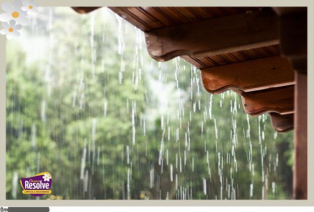 Dicas de cuidados com a casa durante a chuva