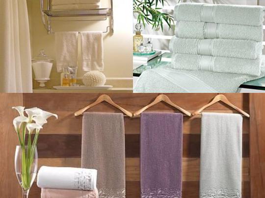 Cuidados com as toalhas de banho