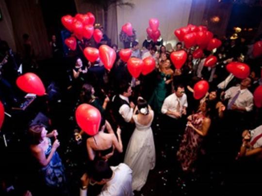 Dicas da Dona – Decoração de casamento com bexigas e balões