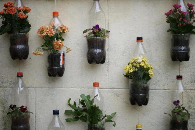 garrafa pet vertical