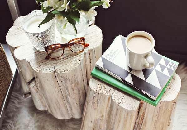 mesa de canto branco