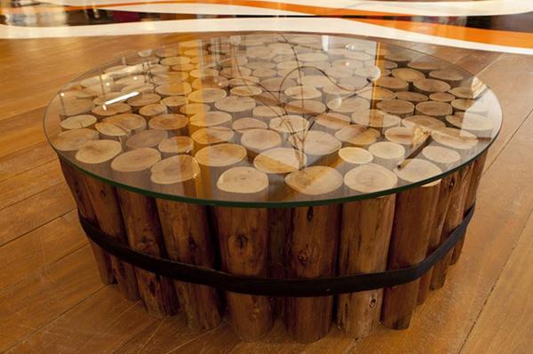 mesa empilhados