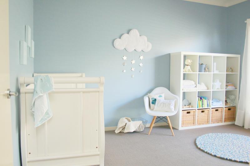 quarto clean nuvem