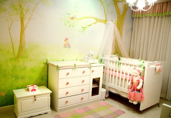 Decoração do Quarto do Bebê ~ Cores Para Quarto De Bebe Verde