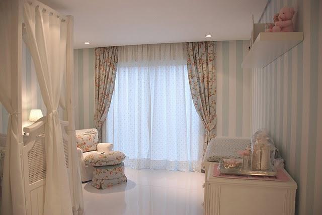 cortinas romantica