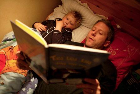 ler para os filhos