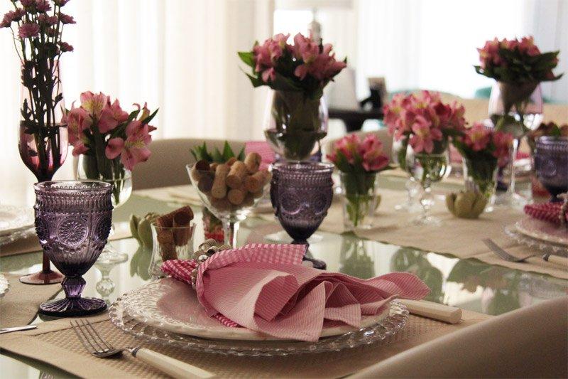 8 Dicas simples e fáceis para Decoração de Mesa de Jantar