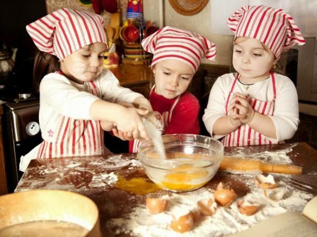 5 dicas para cozinhar com as crianças durante as férias