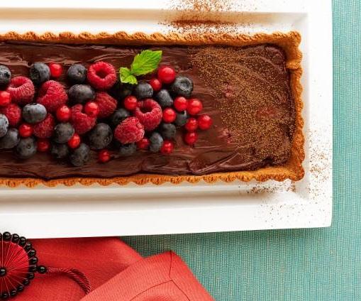 torta-de-ganache-com-frutas-vermelhas