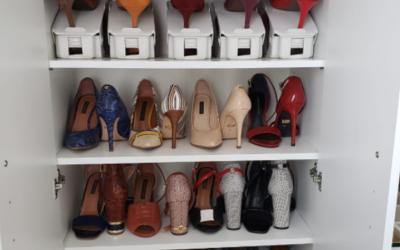 Vamos aprender a organizar os seus sapatos de forma simples com a nossa Personal Organizer, Paula Pinotti e deixar tudo lindo nesse começo de ano?